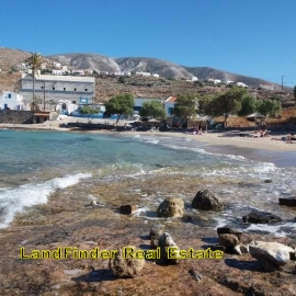 ΠΩΛΕΙΤΑΙ  ΚΑΣΟΣ   οικόπεδο πανοραμικό θέα το λιμάνι και την θάλασσα,